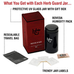 Stash Jar and Smell Proof Container - Concealment furniture and gun concealment furniture to hide your money, pistol, rifle or other weapons, keep guns safe away from kids with hidden compartment furniture -Secret Stashing