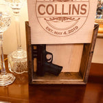 Personalized Hidden Gun Safe or Jewelry Concealment - Concealment furniture to keep your guns and valuables safe from kids and thieves by using secret and hidden compartments -Secret Stashing