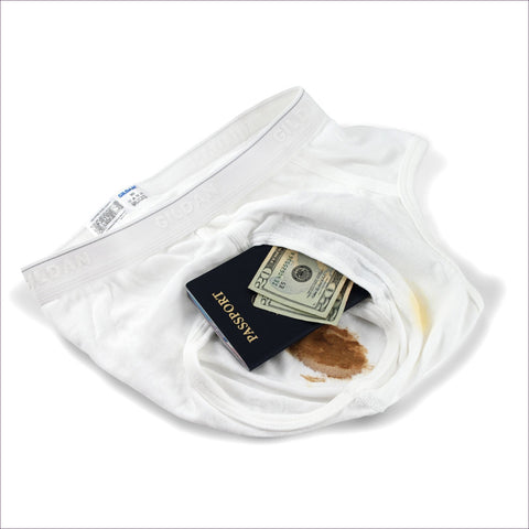 Dirty Underwear Safe - Diversion Safes - Hide your stash and money in everyday items that contain secret compartments, if they don't see it, they can't get it -Secret Stashing