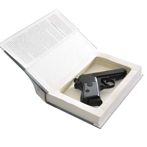 Concealment Book Safe for Subcompact Handguns - Diversion Safes - Hide your stash and money in everyday items that contain secret compartments, if they don't see it, they can't get it -Secret Stashing