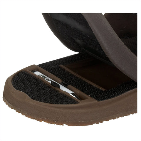 Reef Men's Stash Sandal - Hide your money and passport and keep it safe when traveling with clothes and jewelry with secret compartments -Secret Stashing