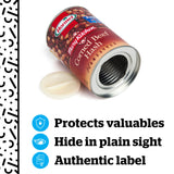 Hormel Corned Beef Hash Can Safe -Great Hiding Place for Storing Valuables - Diversion Safes - Hide your stash and money in everyday items that contain secret compartments, if they don't see it, they can't get it -Secret Stashing