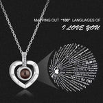 I Love You Necklace - Hide your money and passport and keep it safe when traveling with clothes and jewelry with secret compartments -Secret Stashing