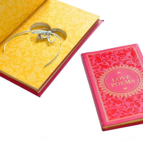 Heart Shaped Jewelry Book Safe