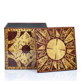 Hellraiser 4-Inch Puzzle Stash Box Storage- Cool puzzles and brain teasers try and solve the puzzle and find the secret compartment and hidden door, great gift ideas -Secret Stashing