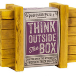 Professor Puzzle Think Outside The Box- Cool puzzles and brain teasers try and solve the puzzle and find the secret compartment and hidden door, great gift ideas -Secret Stashing