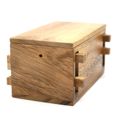 Keep Your Cash in Puzzle Safe Box