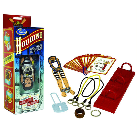 Houdini Brainteaser Game- Cool puzzles and brain teasers try and solve the puzzle and find the secret compartment and hidden door, great gift ideas -Secret Stashing