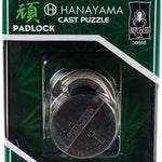 Padlock Hanayama Puzzle- Cool puzzles and brain teasers try and solve the puzzle and find the secret compartment and hidden door, great gift ideas -Secret Stashing