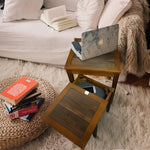 End Tables with Concealed Compartment - Concealment furniture and gun concealment furniture to hide your money, pistol, rifle or other weapons, keep guns safe away from kids with hidden compartment furniture -Secret Stashing