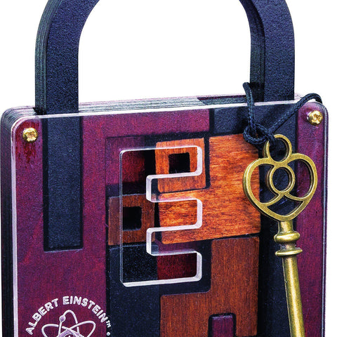 Einstein's Lock Puzzle- Cool puzzles and brain teasers try and solve the puzzle and find the secret compartment and hidden door, great gift ideas -Secret Stashing