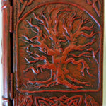 Celtic Tree of Life Cold-Cast Resin Secret Compartment Book - Diversion Safes - Hide your stash and money in everyday items that contain secret compartments, if they don't see it, they can't get it -Secret Stashing