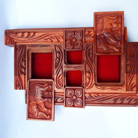 Secret compartment box - Secret Compartment Decor with hidden compartments to stash your valuables -Secret Stashing