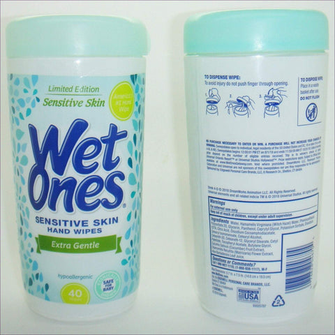 Wet Ones - Stash Can Safes Hand Wipes (Not Real Wipes)