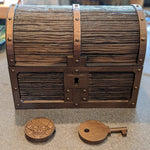 Pirate Chest w/ Two Secret Compartments - Concealment furniture and gun concealment furniture to hide your money, pistol, rifle or other weapons, keep guns safe away from kids with hidden compartment furniture -Secret Stashing