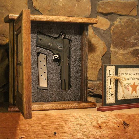 Peacemaker Concealment Clock - Diversion Safes - Hide your stash and money in everyday items that contain secret compartments, if they don't see it, they can't get it -Secret Stashing