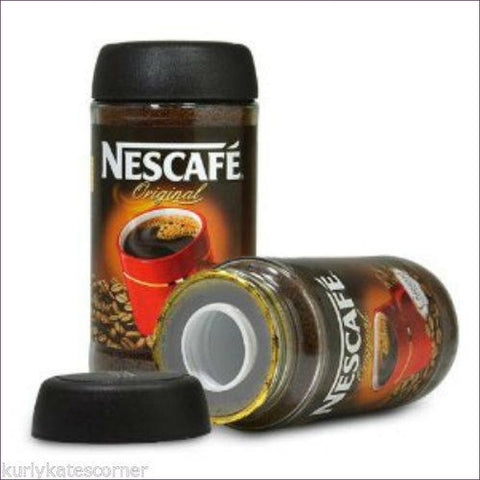 Large Nescafe Coffee Diversion Safe for Hiding Valuables in Plain Sight