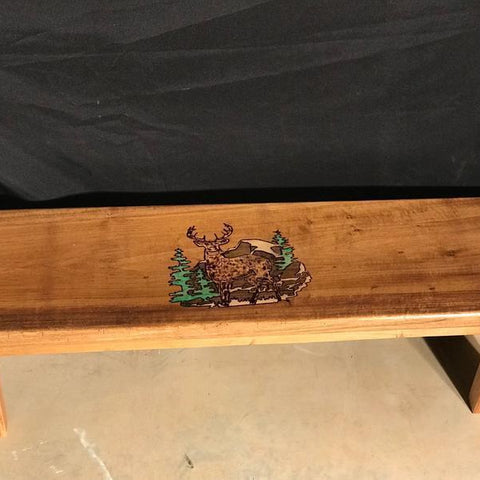 Bench with hidden compartment