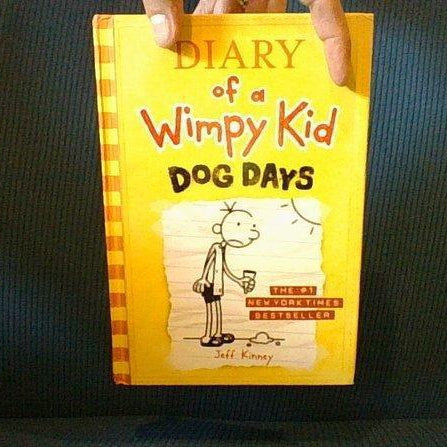 Diary of a Wimpy Kid Dog Days -Gift Present Box, Handmade Diversion Safe Book - Diversion Safes - Hide your stash and money in everyday items that contain secret compartments, if they don't see it, they can't get it -Secret Stashing