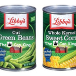 Libby's Green Beans and Corn Diversion Can Safe - 2 Pack - Diversion Safes - Hide your stash and money in everyday items that contain secret compartments, if they don't see it, they can't get it -Secret Stashing