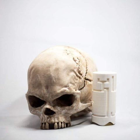 Life Sized Human Skull with Secret Compartment - Secret Compartment Decor with hidden compartments to stash your valuables -Secret Stashing