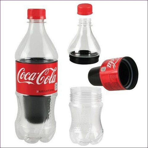 Cola Bottle Secret Stash - Diversion Safes - Hide your stash and money in everyday items that contain secret compartments, if they don't see it, they can't get it -Secret Stashing