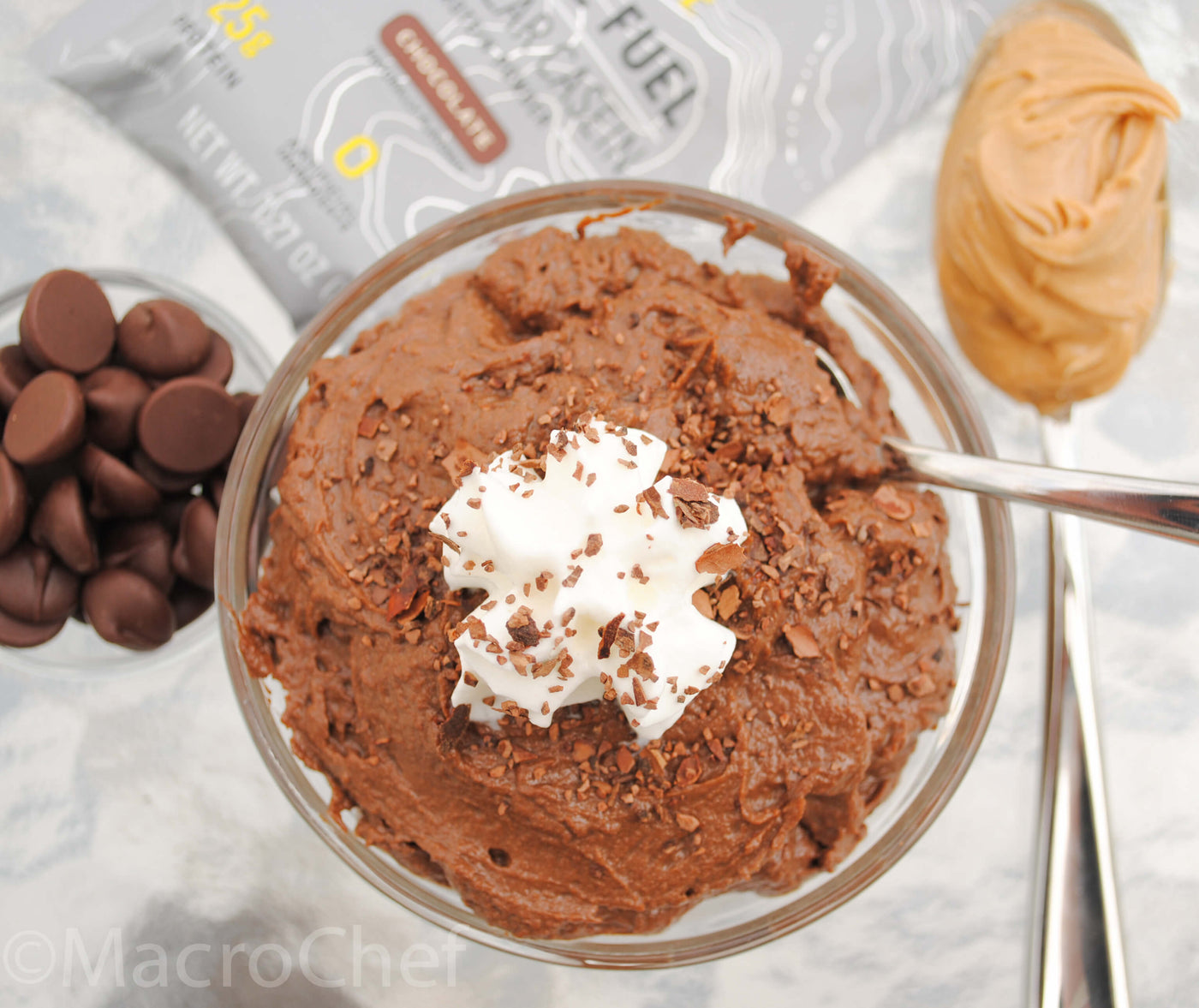 Chocolate Peanut Butter Mousse