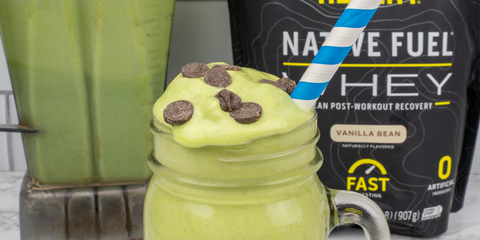 Mint Chocolate Chip Protein Shake