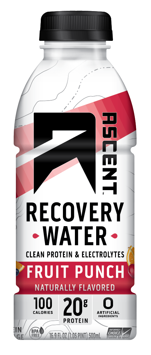 Fruit Punch Recovery Water - Single Serve Product