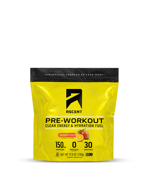 Orange Mango Pre Workout Consumer