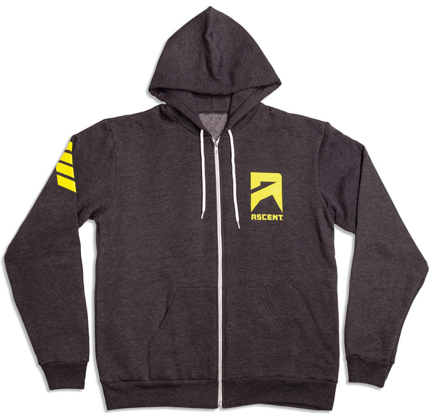 Ascent Gray Hoodie