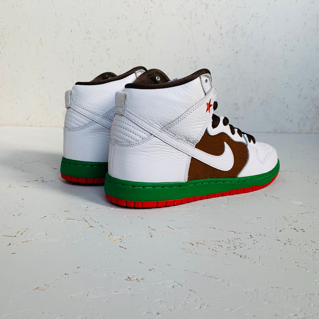 2014 NIKE DUNK HIGH PREMIUM SB 'CALI'
