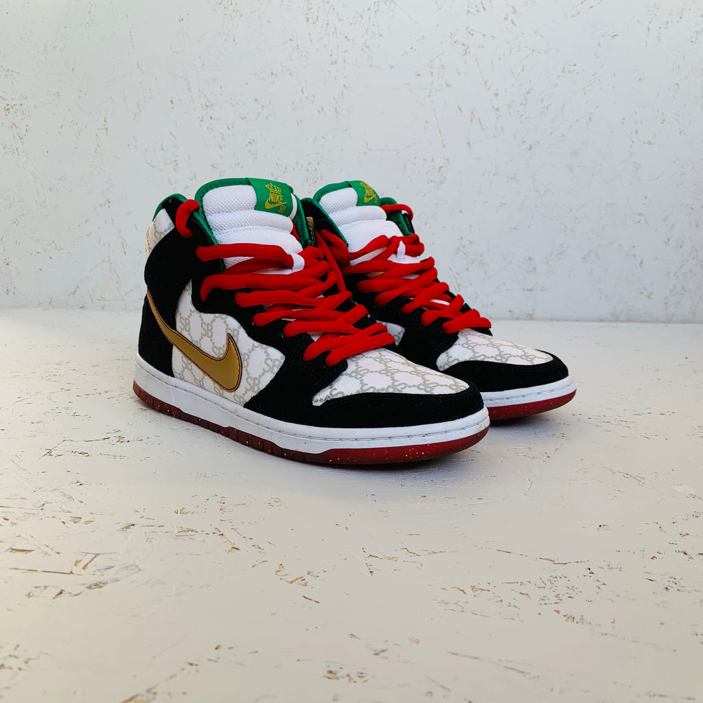 2014 NIKE DUNK HIGH PREMIUM SB 'PAID IN FULL'