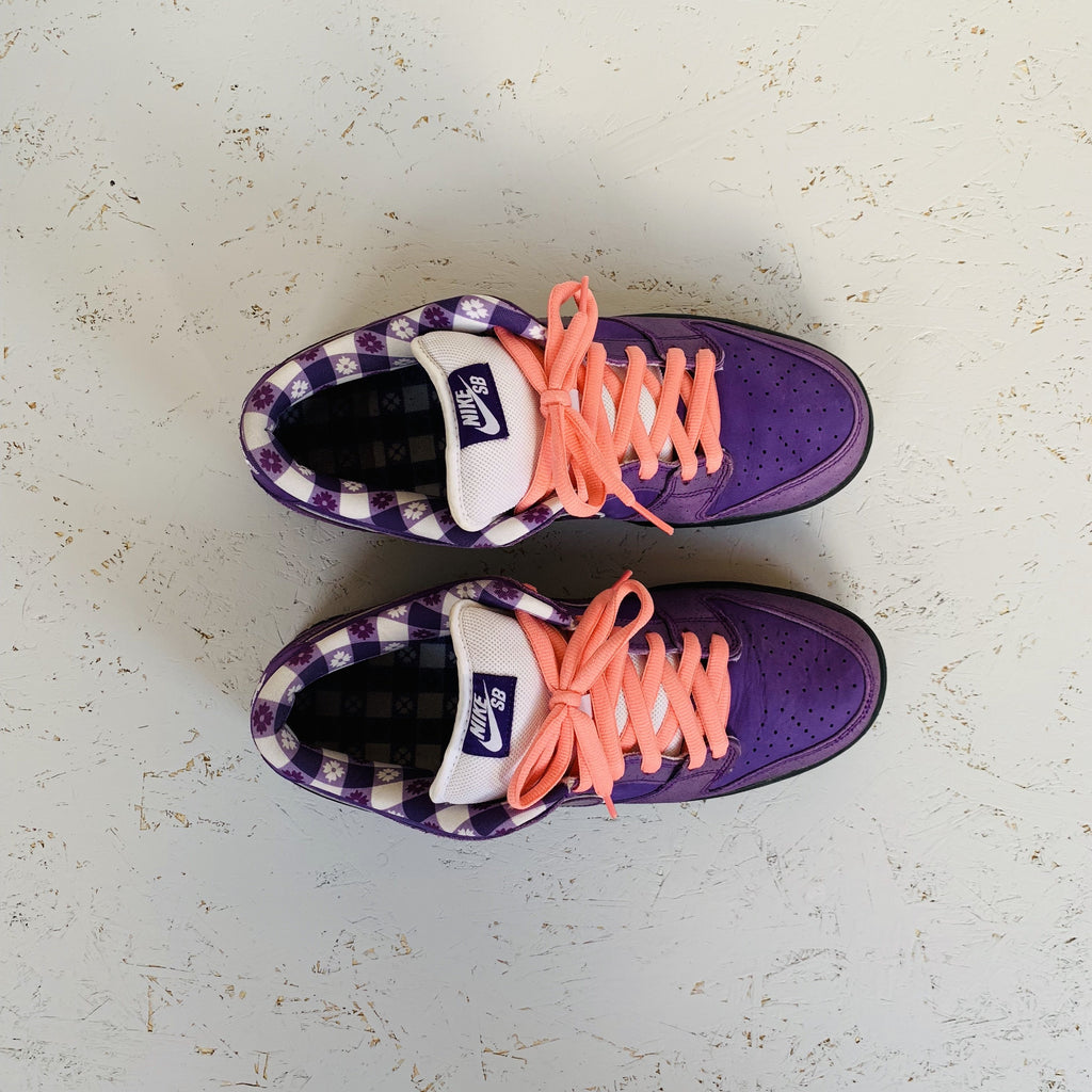 2018 NIKE SB DUNK LOW PRO OG QS 'PURPLE LOBSTER'