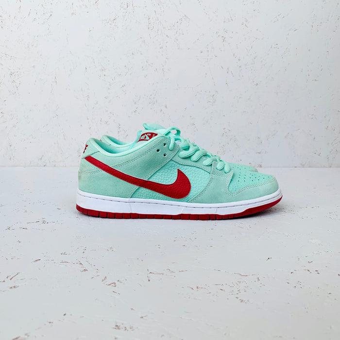 2012 NIKE DUNK SB LOW PRO 'MINT RED'