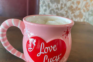 Pink I Love Lucy Mug Best Friends