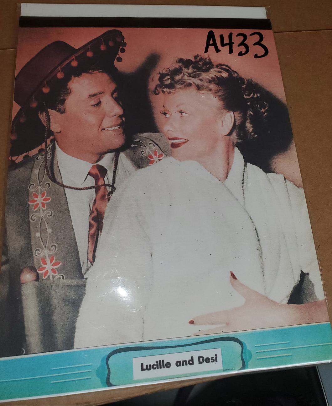 Lucy and Desi Paper Tablet