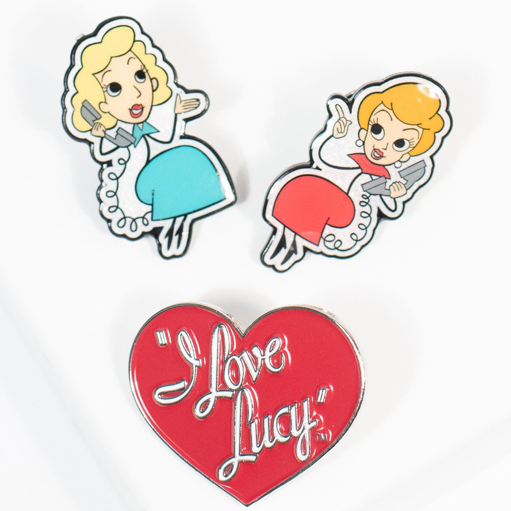 Lucy & Ethel BFF Pin 3-Pack