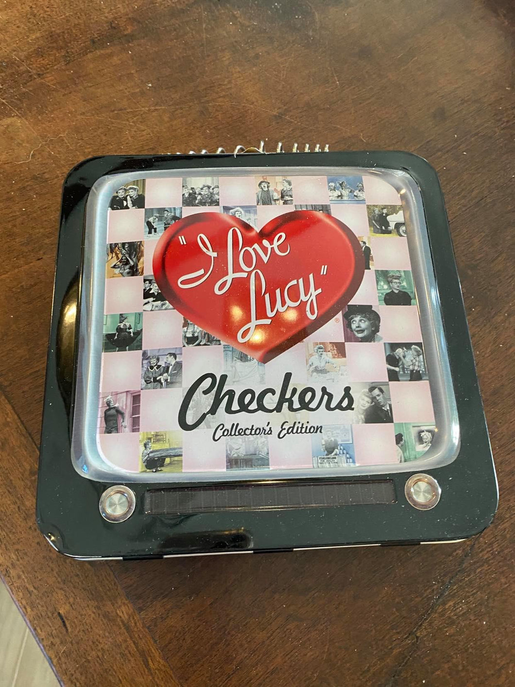 I Love Lucy Checkers