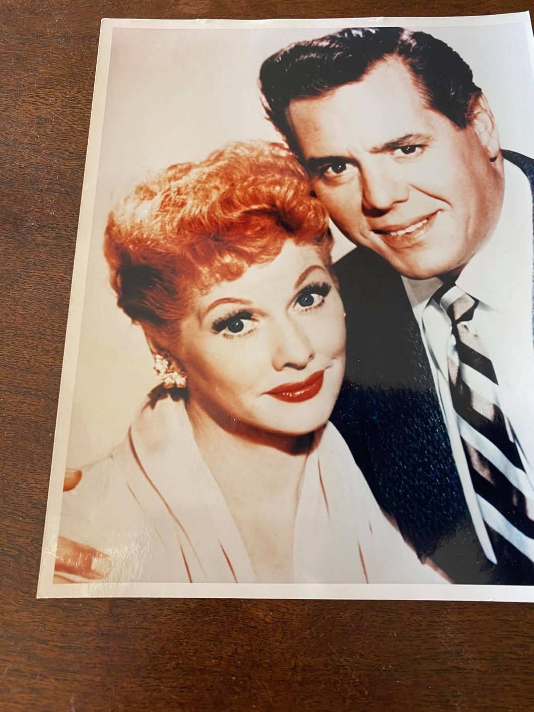 Lucy & Desi Color Photo