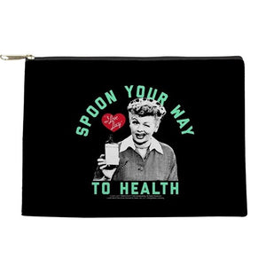 Lucy, Spoon Your Way to Health Make Up bag/pouch