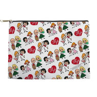 4 CHARACTER MAKE UP BAG