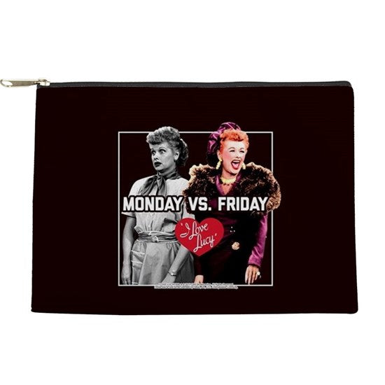Monday VS Friday Make up bag/pouch