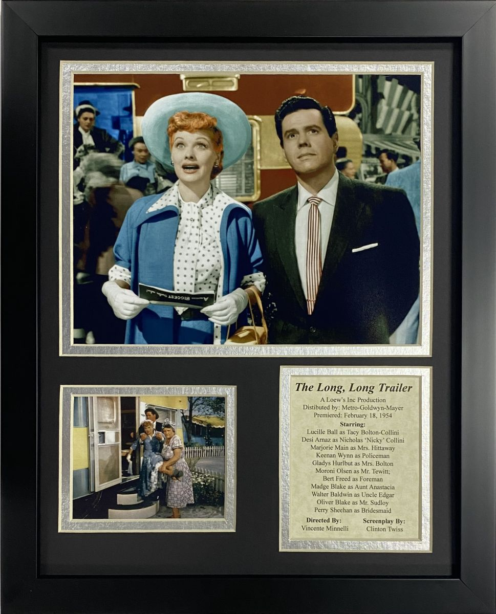 Lucille Ball The Long, Long Trailer Framed Art