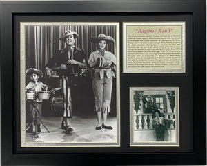 I Love Lucy Ragtime Band Framed Art
