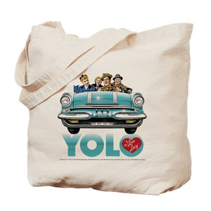 You Only Live Once California Tote Bag