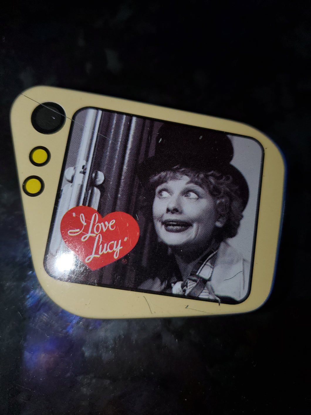 Lucy as Harpo Mini Tin