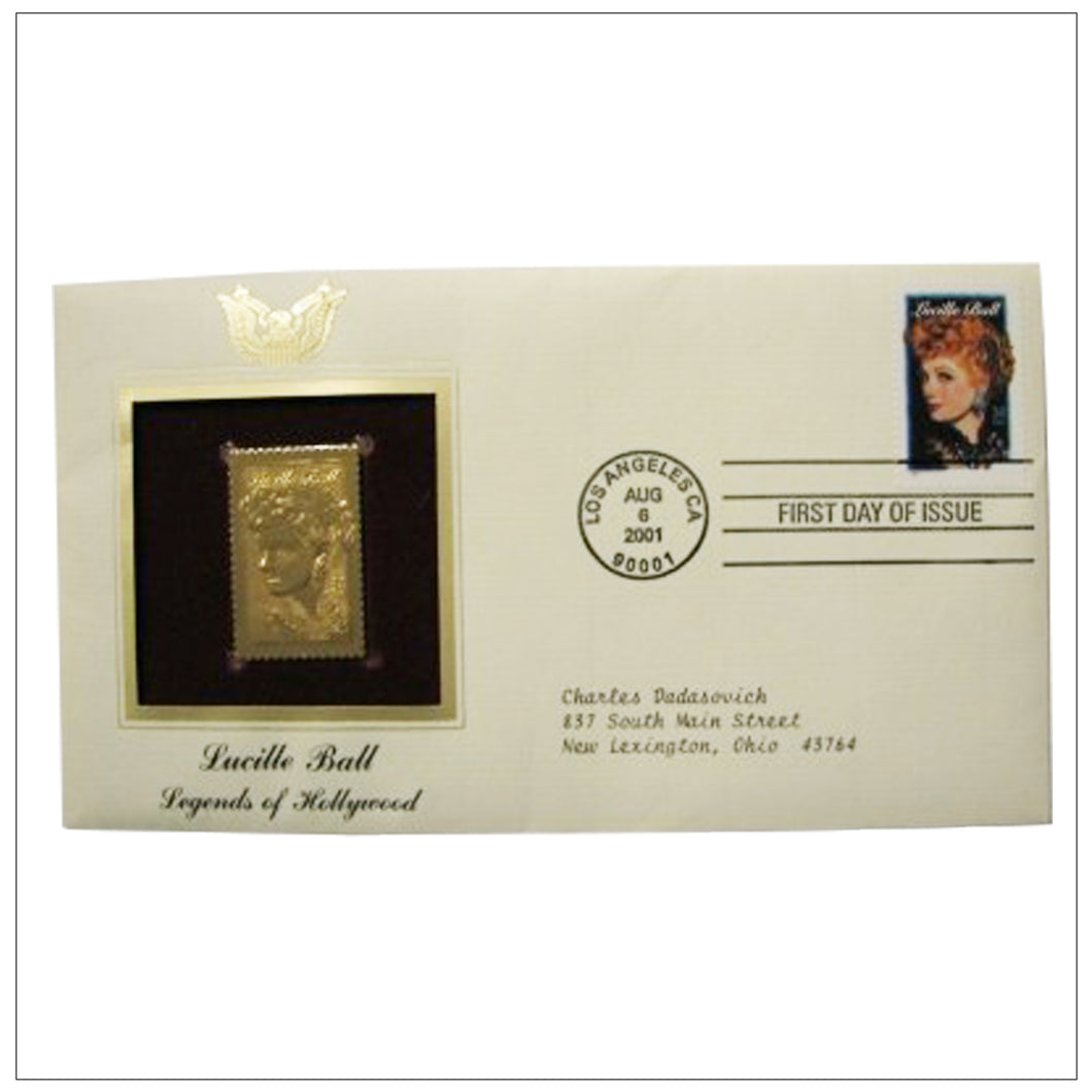 22kt Gold Replica Stamp
