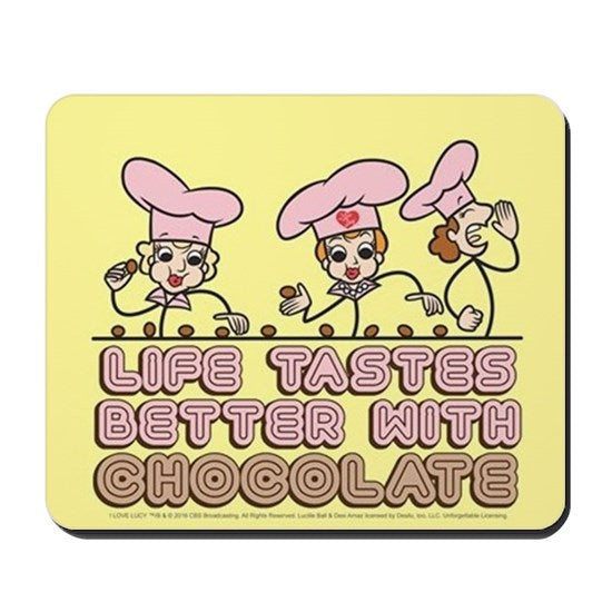 Chocolate Factory Mouse Pad