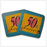 50th Anniversary Coasters